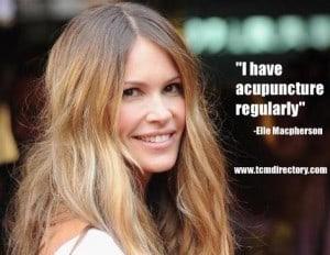 Cosmetic Acupuncture Elle MacPherson